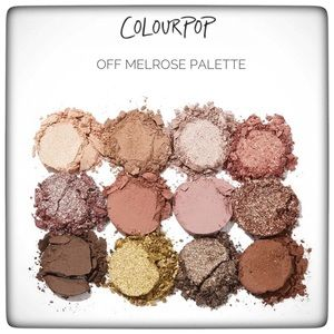 COLOURPOP | NWT Off Melrose Palette